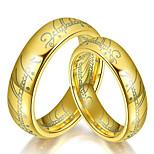 Муж. Жен. Классические кольца Мода Титановая сталь Бижутерия Бижутерия Назначение Повседневные