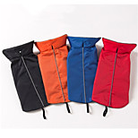 Dog Vest Dog Clothes Casual/Daily Solid Blue Red Orange Black