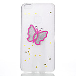Case For Huawei P10 Lite P10 Pattern Back Cover Butterfly Soft Silicone for Huawei P10 Lite Huawei P10 Huawei P8 Lite (2017) Huawei Nova 2