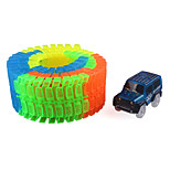 DIY KIT Track Rail Car Toy Cars Classic Car Toys Novelty Noctilucent DIY Kid Pieces
