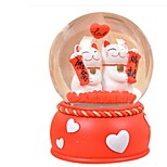 Balls Music Box Toys Circular Duck Crystal Pieces Unisex Birthday Valentine's Day Gift