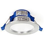 1pc 3w led downlight celing светлый теплый белый / белый ac220v размер отверстие 85 мм 4000 / 6500k