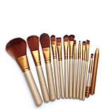 12 pcs Makeup Brush Set Synthetic Hair Cosmetic Beauty Care Makeup for Face