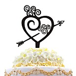 акриловый торт вставить любовный торт с тортом любовь украшение