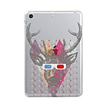 Für iPad (2017) Hüllen Cover Transparent Muster Rückseitenabdeckung Hülle Durchsichtig Weihnachten Weich TPU für Apple iPad (2017) iPad
