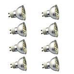 8 ед. 3W GU10 Точечное LED освещение 29 светодиоды SMD 5050 Декоративная Тёплый белый Холодный белый 350lm 3000-7000K AC220V
