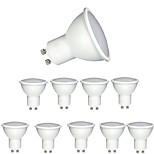 6W GU10 Точечное LED освещение MR16 1 COB 600 lm Тёплый белый Холодный белый 2700-6500 К Диммируемая Декоративная AC 220-240 V 10 ед.