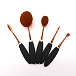 5 PCS Makeup Brush Set Synthetic Hair