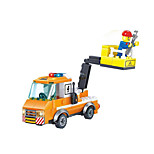 Building Blocks Toy Cars Toys Novelty Forklift Pieces Not Specified Gift