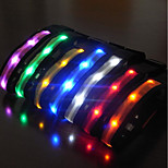 Collar Reflective LED Light Strobe/Flashing Solid Nylon