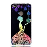 Case For Huawei P9 Lite P8 Lite (2017) Cover Plating IMD Pattern Back Cover Case Sexy Lady Hard TPU