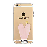 For iPhone X iPhone 8 Case Cover Transparent Pattern Back Cover Case Heart Soft TPU for Apple iPhone X iPhone 8 Plus iPhone 8 iPhone 7