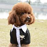 Собака Жилет Одежда для собак На каждый день Сплошной цвет