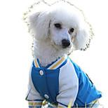 Dog Sweatshirt Dog Clothes Casual/Daily Cartoon Blue Red