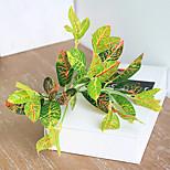 cheap -1 Branch Silk Plants Tabletop Flower Artificial Flowers Home Decoration Wedding Flowers