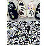 300 Nail Art Decoration Rhinestone Pearls Makeup Cosmetic Nail Art Design