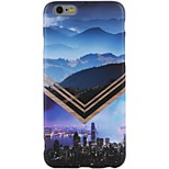 For iPhone X iPhone 8 Case Cover Pattern Back Cover Case Scenery City View Soft TPU for Apple iPhone X iPhone 8 Plus iPhone 8 iPhone 7