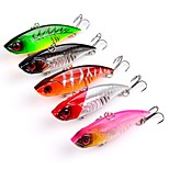 5 pcs Fishing Lures Hard Bait g/Ounce65mm mm inchPlastic Sea Fishing Trolling & Boat Fishing Lure Fishing