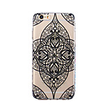 For iPhone X iPhone 8 Case Cover Ultra-thin Transparent Pattern Back Cover Case Mandala Soft TPU for Apple iPhone X iPhone 8 Plus iPhone