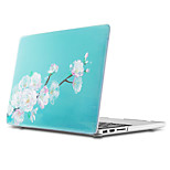 MacBook Case for MacBook Air 13-inch Macbook Air 11-inch MacBook Pro 13-inch with Retina display Flower TPU Material