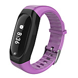 HHY New ID118HR Smart Wristbands Heart Rate Wristbands Caller Information Reminder Sports Waterproof Step Bracelet