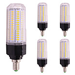 12W LED Corn Lights T 126 SMD 5730 1000 lm Warm White Cold White 2800-3500;5000-6500 K AC85-265 V