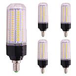 12W LED лампы типа Корн T 126 SMD 5730 1000 lm Тёплый белый Холодный белый 2800-3500;5000-6500 К V 5pcs