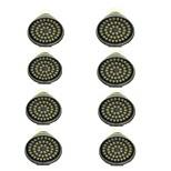8 piezas 3W GU10 Focos LED 48 leds SMD 2835 Decorativa Blanco Cálido Blanco Fresco 500lm 3000-7000K AC 12V