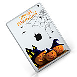 Per iPad (2017) Custodie cover Transparente Fantasia/disegno Custodia posteriore Custodia Transparente Halloween Morbido TPU per Apple