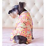 Собака Комбинезоны Одежда для собак На каждый день Носки детские Белый Серый Розовый