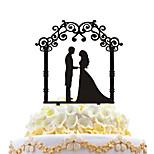 Acrylic Cake Inserts Wedding Cake Decorated With Cake Decoration