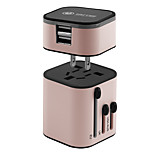 Phone USB Charger DE Plug UK Plug US Plug AU Plug Power Strips  1 Outlets 2 USB Ports 3.2A AC 100V-250V