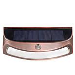 DS-3688 Solar Outdoor Waterproof Led Wall Lamp Light Control Sensor Lights