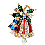 Women's Brooches Rhinestone Fashion Chrismas Alloy Jewelry Jewelry For Gift Christmas
