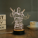 USB Lights LED Night Light Decoration Light-0.5W-USB Decorative - Decorative