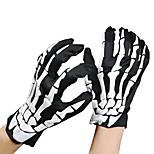 унисекс Хэллоуин костюм косплей скелет череп призрак перчатки