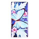 Case for Sony Sony Xperia XZ Sony Xperia X  Cover Pattern Back Cover Case Butterfly Flower Soft TPU for Performance Sony Xperia X