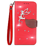 Case For Huawei Honor 9 Card Holder Wallet Rhinestone with Stand Flip Full Body Solid Color Hard PU Leather for Huawei Honor 9 Huawei