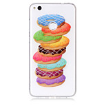 Case For Huawei P8 Lite (2017) P10 Lite Phone Case TPU Material Donuts Pattern HD Phone Case P9 Lite