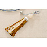 Bag / Phone / Keychain Charm Crystal / Rhinestone Style Jingle Bell Tassel Crystal Polyester Metal 14CM