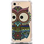 For iPhone X iPhone 8 Case Cover Ultra-thin Transparent Pattern Back Cover Case Owl Soft TPU for Apple iPhone X iPhone 8 Plus iPhone 8