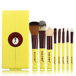 8Pcs Professional Beginners Makeup Brush Set Foundation Brush Makeup Brush Set Foundation Lipbrush Eyeliner Eyeshadow