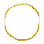 Men's Chain Necklaces Animal Shape Dragon Gold Plated Hip-Hop Statement Jewelry Jewelry For Club Street