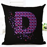 1 pcs Linen Pillow CaseGeometric Modern Modern/Contemporary