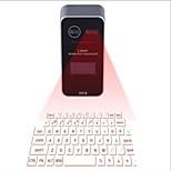 bluetooth лазерная проекция виртуальная клавиатура с дисплеем lcd english qwerty layout кнопка мыши функция голосовая подсказка
