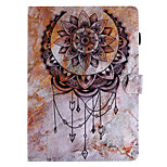 For Case Cover Card Holder Wallet with Stand Flip Pattern Full Body Case Dream Catcher Hard PU Leather for Apple iPad pro 10.5 iPad