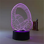 1set Color-Changing Decorative USB Lights LED Night Light Decoration Light-3W-Battery USB