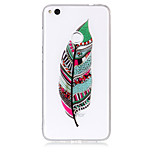 Case For Huawei P8 Lite (2017) P10 Lite Phone Case TPU Material Feathers Pattern HD Phone Case P9 Lite