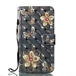 Per iPhone X iPhone 8 Custodie cover A portafoglio Porta-carte di credito Con supporto Con chiusura magnetica Fantasia/disegno A calamita