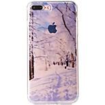 Per iPhone 7 Custodie cover IMD Fantasia/disegno Custodia posteriore Custodia Paesaggi Morbido TPU per Apple iPhone 7 Plus iPhone 7